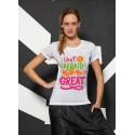 T-Shirt  Donna Sublimatica Cotton Touch