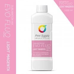 Evo Fluo Sublimation Ink LIGHT MAGENTA