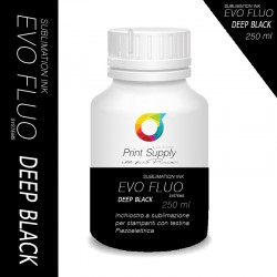 Evo Fluo Inchiostro Sublimazione Deep Black